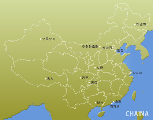 HoteGuru Map CHINA